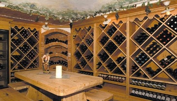 Our wine cellar
